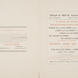 Philip A. Smyth, auctioneer...