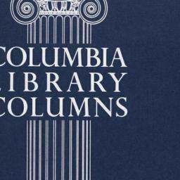 Columbia Library Columns