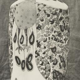 Porcelain vase designed by ...