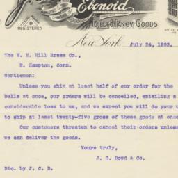 J. C. Dowd & Co. Letter