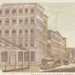 Broadway to Trinity Church