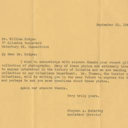 Letter from Stephen McCarth...