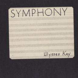 Symphony I