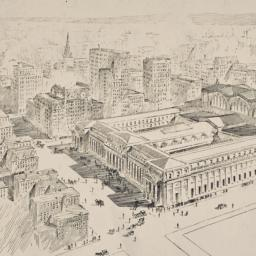 [Aerial perspective of Penn...