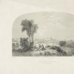 New York in 1768 south east...