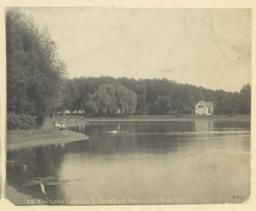 43. The lake looking E. from Boat House Sep. 4, 1891