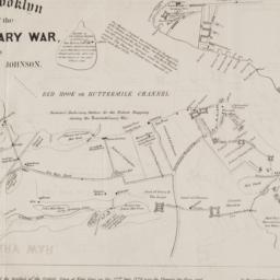 Map of Brooklyn at the time...