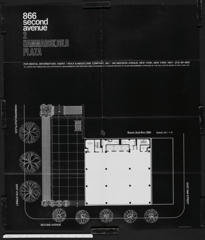 2 Hammarskjld Plaza 866 Second Avenue Floors 2nd Thru 16th