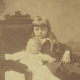 Frances Perkins as a child ...