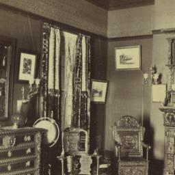 [Interior with dresser and ...