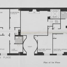 4 Sutton Place, Plan Of 1st...