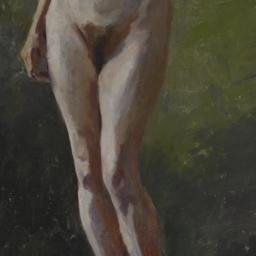 [Nude Study, Standing with ...