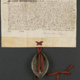 Letter, 1519, from Prior Ge...