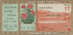 Rose Bowl Game Ticket
