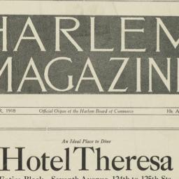 Harlem Magazine : Vol. 7. N...