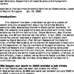 Speaker's notes, 2007-01-22...