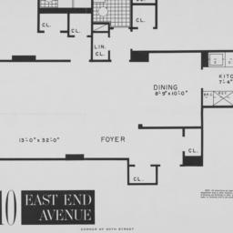 """10 East End Avenue, """"m"""" 2nd..."""