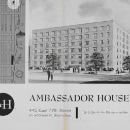 Ambassador House, 445 E. 77...