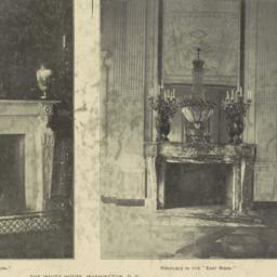 """Fireplace in the """"Red Room...."""