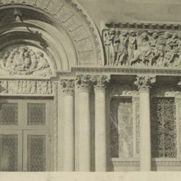 Detail of South doorway: Ch...