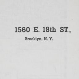 1560 E. 18th Street