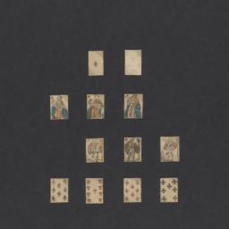 Standard deck of miniature ...