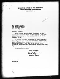 Letter from Herman Somers to Richard Sterner, March 21, 1940