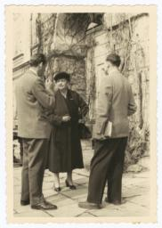 Frances Perkins with other delegates to the International Labor Organization