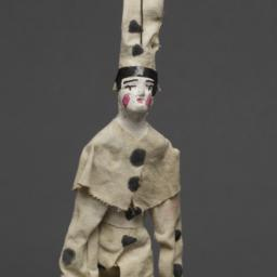 Jigging Puppet Of Clown In ...