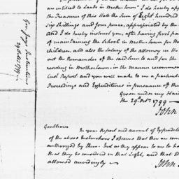 Document, 1799 October 29