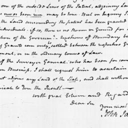 Document, 1799 October 15