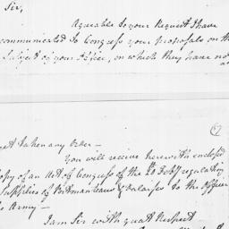 Document, 1779 March 02