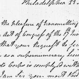 Document, 1779 February 23