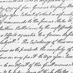 Document, 1779 June 29