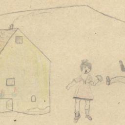 Boy And Girl Playing Outsid...