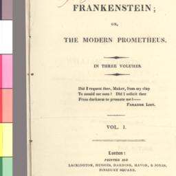 Frankenstein, or, the moder...