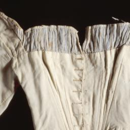Muslin bodice of the costum...