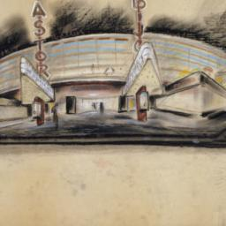 Drawing, Dowling Theater, T...