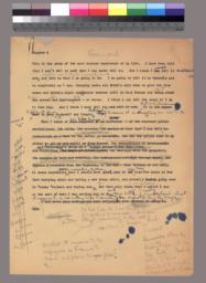 Forward manuscript first page
