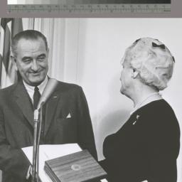 Photograph of President Joh...