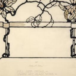 Detail drawing of decorativ...