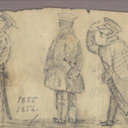 Caricature on three Directors