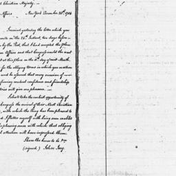 Document, 1784 December 28