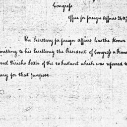 Document, 1785 April 26