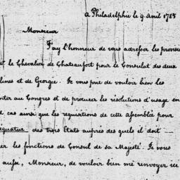 Document, 1785 April 09