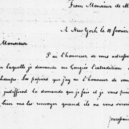 Document, 1785 February 10