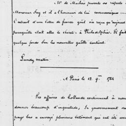 Document, 1785 January 31
