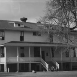 Boys' Dormitory, Hoopa, Cal...