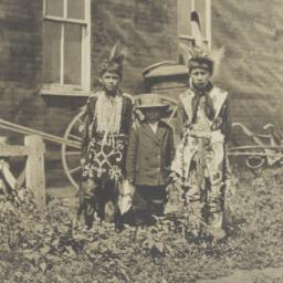 Three Native American Boys,...