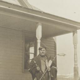 American Indian Man Posing ...